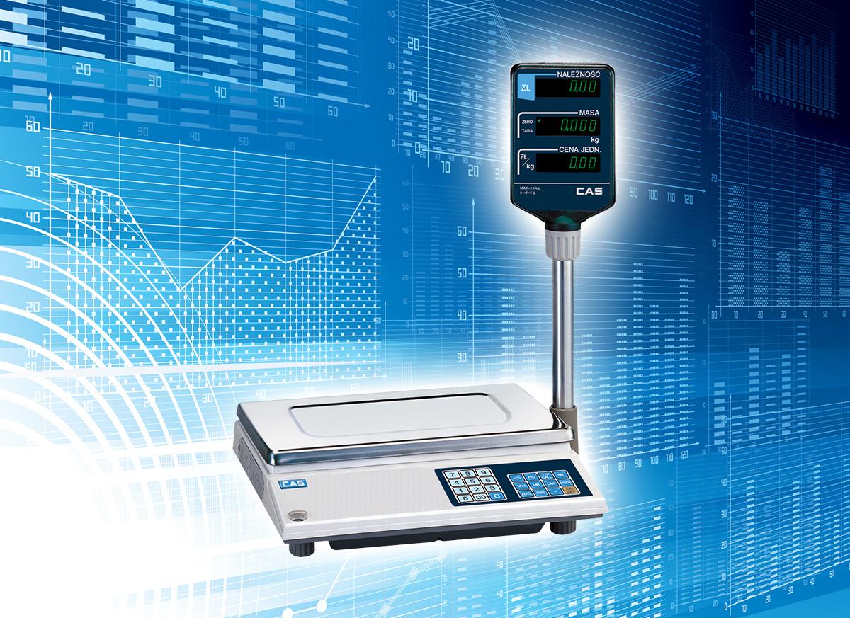 Cas AP-1 15 - waga elektroniczna