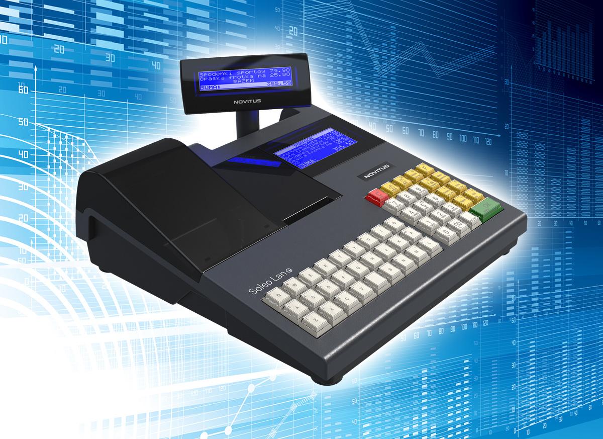 Novitus Soleo LAN E - systemowa kasa fiskalna