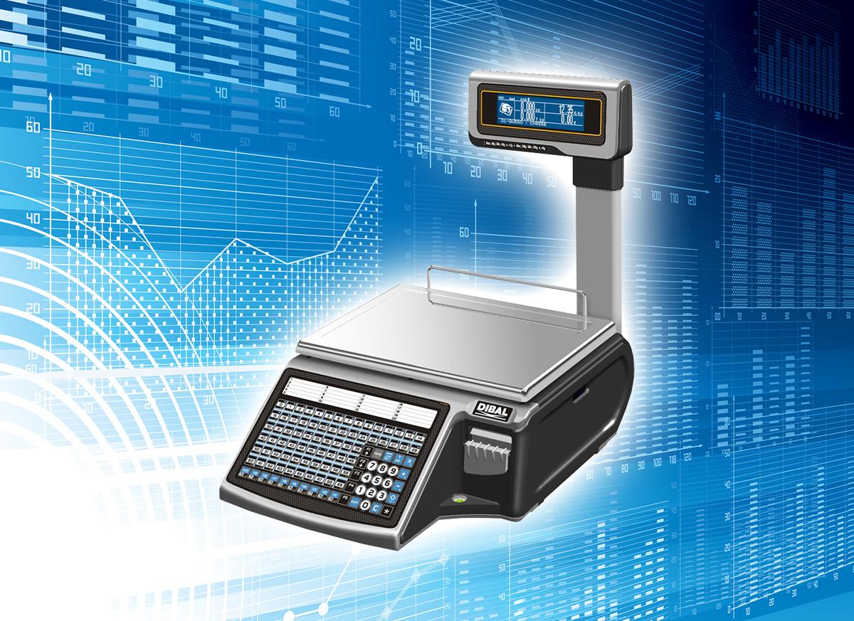 Dibal M-525 - elektroniczna waga etykietująca
